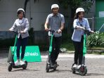 Menhub: Skuter Listrik Bisa Jadi Solusi untuk Mengurangi Polusi Udara di Jakarta