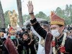 Menparekraf Sandiaga Uno Diberi Gelar Marga Kudadiri dari Masyarakat Suku Pakpak