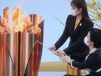 Penyulut Obor Estafet Olimpiade Jepang Berharap Masyarakat Semakin Cerah di Tengah Pandemi Covid-19