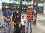 Satu Keluarga TKI Kembali Dipulangkan ke Aceh, Agus Diana Sakit Pasca Operasi Caesar Bayi Prematur