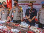 OTT Perdagangan Satwa Liar Rp 6,3 Miliar, Polda Aceh Sita Sisik Trenggiling, Kulit, Tulang Harimau