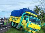 Sopir Truk Kena Prank Pocong hingga Kecelakaan, Korban Lari Ketakutan dan Truk Masuk Selokan