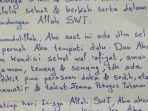 Isi Surat Habib Rizieq dari Balik Penjara untuk Istri dan Anak, Minta Dikirimi Kurma untuk Sahur