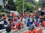 Puluhan Mahasiswa Diamankan Saat Aksi May Day, Polisi: Ini Hari Buruh Bukan Hari Mahasiswa