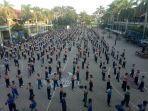 Update, 11 Santri Gontor 2 Ponorogo Positif Corona, Akan Dirawat di RS Lapangan Covid-19 Surabaya