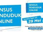 Sensus Penduduk Online Berakhir Jumat 29 Mei 2020 Pukul 23.59 WIB, Segera Login sensus.bps.go.id