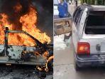 Sengaja Kunci Pintu Mobil, Seorang Kakek Hanya Bisa Nangis Pasrah Saksikan Cucunya Tewas Dilahap Api