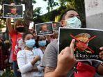 Keberadaan Aung San Suu Kyi Masih Misteri Pasca 24 Jam Ditangkap, AS Serukan Sanksi pada Jenderal