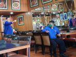 Datangi Konferensi Pers Kader Muda Demokrat, Satgas Rajawali: Kami Akan Lawan KLB