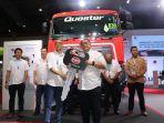 UD Trucks Serah Terima 64 Unit Truk Quester ABS ke Pelanggan Loyal Trans Migasindo