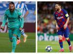 Sergio Ramos Sebut Lionel Messi Bikin Real Madrid Menderita Selama Bertahun-tahun