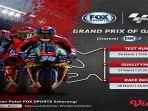 LIVE Streaming TV Online FP1 & FP2 MotoGP Qatar 2021 - Akses Fox Sports 2 & Panduan Menonton di Sini
