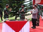 Panglima TNI Resmikan Gedung Perpustakaan Widyasana Sesko AU di Bandung