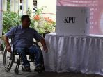 Aksesibilitas ke TPS Dalam Pilkada Belum Ramah Penyandang Disabilitas