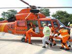 Penyelamatan Korban Kecelakaan di Jalan Layang MBZ Gunakan Helikopter