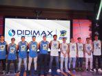 Seperti Persib, Prawira Bandung Gandeng Didimax Hadapi IBL 2021
