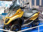 Skuter Roda Tiga Piaggio MP3 500 HPE Dipasarkan di Indonesia, Harga Rp 360 Juta