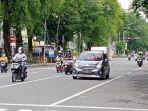 Kondisi Kota Solo Hari Pertama Jateng di Rumah Aja: Lalu Lintas Ramai, Banyak Warga Berolahraga