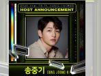 Song Joong Ki Dikonfirmasi Menjadi Host di MAMA (Mnet Asian Music Awards) 2020