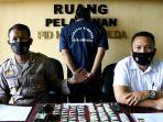 Polda Bengkulu Tangkap Sopir Travel yang Jadi Kurir 65 Paket Sabu