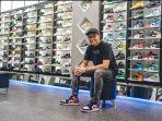 Manfaatkan Platform Online, Steven Sukses Berbisnis Sneakers