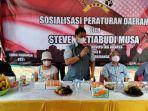 Pandemi Covid-19 Masih Jadi Ancaman Serius Jangan Sampai Kita Lengah kata Steven Setiabudi Musa