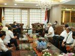 Kita Menargetkan Bulan Ini Keputusan Final Terkait Jiwasraya kata Syahrul Tahir Usai Bertemu DPR