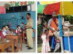 Kisah Suhari, Guru Honorer asal Lamongan, Dapat Bantuan Rp 5 Juta dari Polisi untuk Beli Kambing