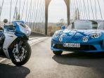 Kolaborasi dengan Pabrik Mobil Alpine, MV Agusta Luncurkan Superveloce Alpine