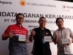 Kolaborasi Telkomsel dan Astra Otoparts Hadirkan T-Bike di Shop & Bike dan Bike Corner