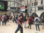 Berikut Daftar Masyarakat yang Boleh Naik Kereta Jarak Jauh Saat Larangan Mudik Berlaku