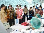 Kemenhub Intensifkan Tes Covid-19 Acak di Terminal Bus Alang-Alang Lebar Palembang