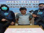 Kurir 876 Gram Sabu Tak Berdaya Dicegat Petugas BNN di Jalinsum Kabupaten Muratara Sumsel