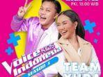 Yura Yunita dan Rizky Febian Duet Jadi Coach di The Voice Kids Indonesia Season 4