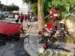 Kecelakaan Maut Mobil Terbelah Menjadi Dua, Tabrak Pohon hingga 3 Orang Tewas di Tempat