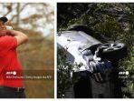 Pegolf Tiger Woods Alami Kecelakaan Tunggal di Los Angeles