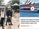 VIRAL Objek Wisata Taronga Zoo di Australia Mirip Suasana Indonesia, Segini Harga Tiket Masuknya