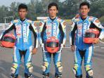 Trio Pebalap Suzuki Mantap Rebut Podium Juara di Asian Challenge 2016 Seri 4