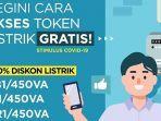 Klaim Token Listrik Gratis PLN Januari 2021 via www.pln.co.id, Chat WA atau PLN Mobile, Ini Caranya