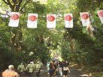 Tahun Ini Tidak Ada Omisoka di Kuil Meiji Tokyo Jepang