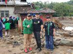 Banjir dan Longsor Parah, Tommy Kurniawan Terjun Langsung ke Desa Sukajaya Bogor