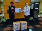 Tribunnews Bersama Cardinal Salurkan 2.000 Masker Kain Kepada Pemerintah Kabupaten Tangerang