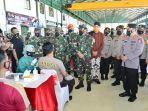 Panglima TNI dan Kapolri Pimpin Vaksinasi Prajurit TNI-Polri dan Lansia di Semarang
