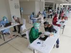 Tercatat 777.096 Tenaga Kesehatan Sudah Terima Suntikan Vaksin Covid-19 Dosis Pertama