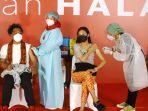 Vaksinasi Budayawan dan Seniman, Nadiem: Pemerintah Ingin Sektor Seni Budaya Bangkit dari Pandemi