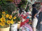 Valentine, Penjualan Bunga di Tangsel Naik 40 Persen, Setangkai Mawar Dijual Rp 25 Ribu