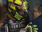FOTO-FOTO Penampakan Valentino Rossi dan Franco Morbidelli Pakai Seragam Balap Petronas Yamaha SRT