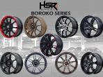 HSR Boroko Series, Velg Khusus untuk Para Pecinta Modifikasi Mobil Bergaya JDM