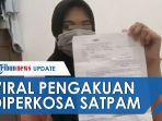 VIDEO Curhatan Wanita Muda Dinodai Satpam, Kasusnya Tak Ada Kejelasan, Minta Pelaku Segera Ditangkap
