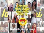 Video Kor Online Nyanyikan Selamat Lebaran Ditonton 85 Ribu Kali, Inisiator: Awalnya Cuma Iseng